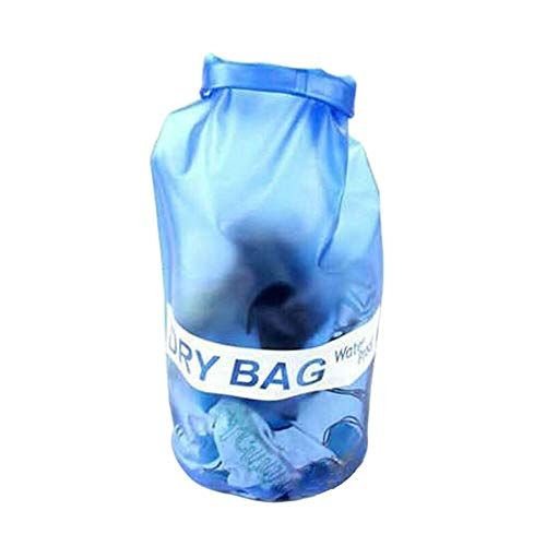 Fcostume - Mochila Sumergible para cámara de Fotos, 10 litros, Resistente al Agua, para Playa, natación o Senderismo, Azul