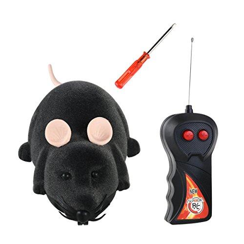 TOYMYTOY Spielzeugmäuse Fernbedienung Elektrische Ratte Plüsch Maus