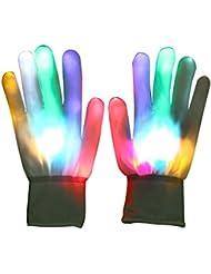 Vicloon LED Paire de Gants Lumineux / Coloré , LED Rave Eclairage Clignotant / Multi Couleur, Pour Sport / Club / Soireé / Noël / Course / Fête / Halloween