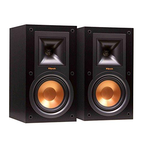 Klipsch R-15M Lautsprecher, Farbe: Schwarz, Paar