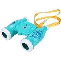 Binoculares de Juguetes de Niños Binoculares Educativos Ampliación 6X para Niños ( Color : Azul )