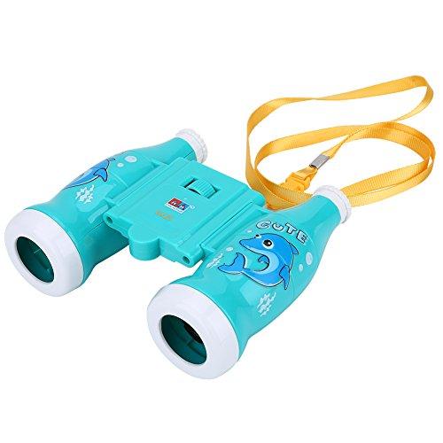 Kinder Spielzeug Fernglas Binokular 6X Vergrößerung für Kinder Lernen Geschenk ( Farbe : Blau )