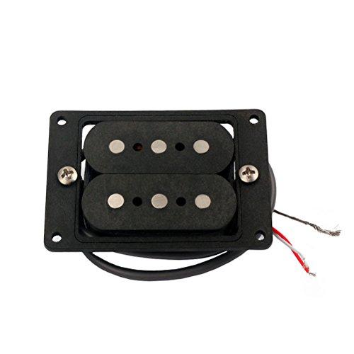 ROSENICE 3Gitarren-Humbucker-Tonabnehmer, Cigar Box, Ersatzteil (Cigar-box-gitarre)