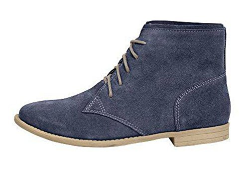 Chaussure à lacets Femmes en cuir de Andrea Conti Bleu