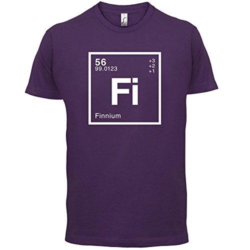 Finn Periodensystem - Herren T-Shirt - 13 Farben Lila