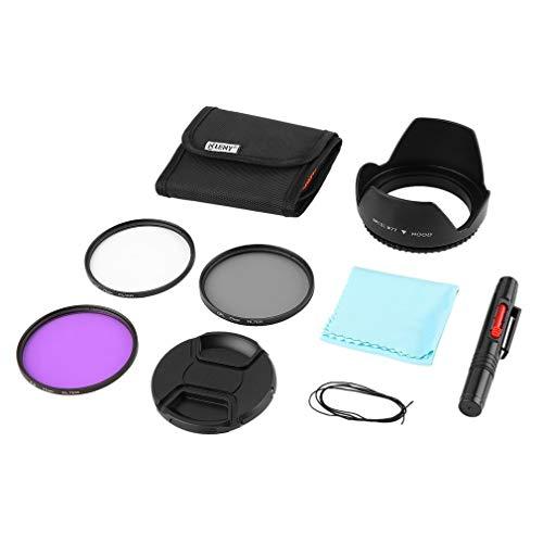 Preisvergleich Produktbild Ndier Onleny dünne UV CPL FLD Filter Aufbewahrungstasche Reinigungs Feder Objektivabdeckung 9Stk Kit Elektronische Produkte
