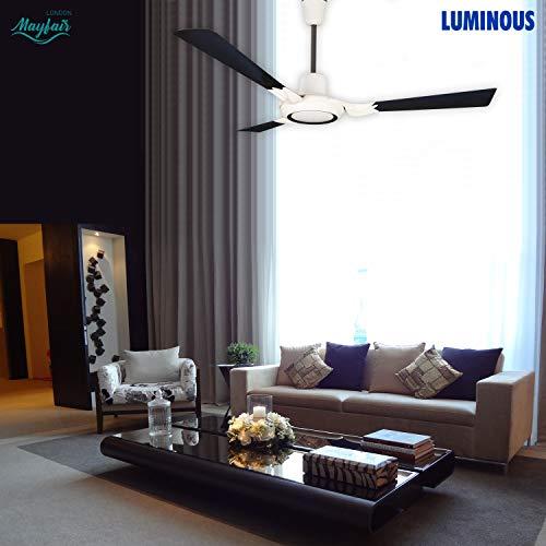 Luminous London Mayfair 1200mm Ceiling Fan (Bourneville Brown)
