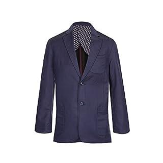 Alexanders of London Mens Linen Jacket / Blazer - Navy - Size 42 Regular