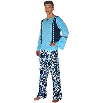 Fiori Hippie Costume 70er anni Costume Uomo XL 54 COSTUME CARNEVALE UOMO
