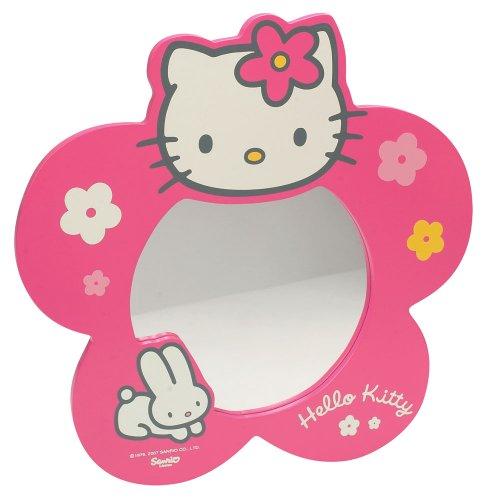 Hello Kitty - 711 174 - Muebles y Decoración - Espejo Caja Flor - quadricolor Importado de Francia...