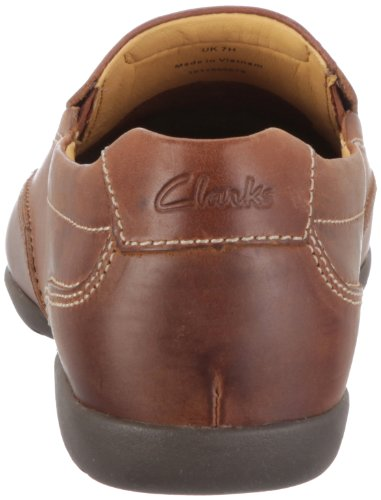 Clarks Recline Free 20348486, Scarpe chiuse uomo Marrone (Tan Leather)
