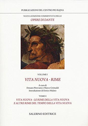 Nuova edizione commentata delle opere di Dante: 1