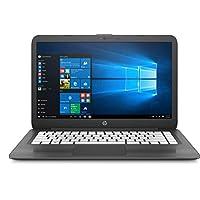 HP Stream 14-ax030wm Laptop, Intel Celeron N3060, 14 Inch, 4GB RAM, 32GB Emmc, Windows 10, Smoke Grey