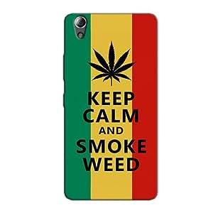 KEEP CALM AND SMOKE WEED BACK COVER FOR LENOVO A6000