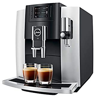 Jura-15247-E8-Platina-2018-Kaffee-Vollautomat-19-liters-Silber-Schwarz