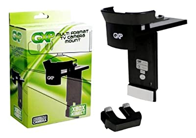 GXP LCD LED PLASMA TV MOUNT CLIP HOLDER BRACKET STAND for XBOX 360 KINECT SENSOR by Generic