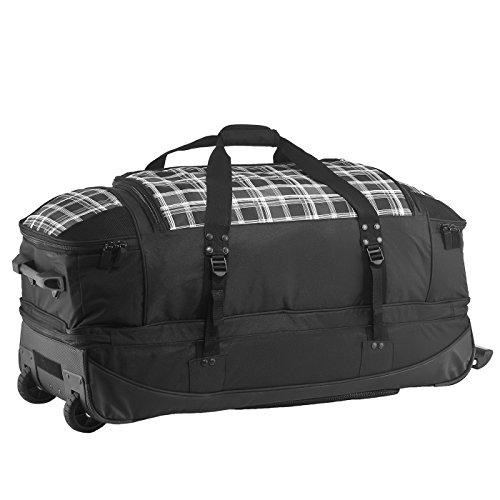 7119fb1a5c081 Rada Reisetasche mit Rollen RT 22 Reisetasche in verschiedenen Farben  (black points) check ...