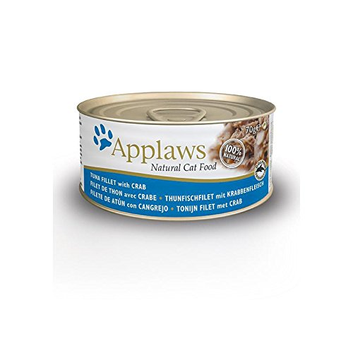 Applaws | Tuna Fillet with Crab | 24 x 70 g