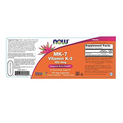 Zoom IMG-1 now foods mk 7 vitamin