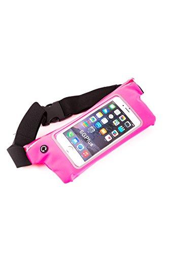 BERTRONIC ® Sport - Bauchtasche XL - Pink - für Smartphone, Handy, MP4/MP3 Player, iPhone/iPod, Samsung, LG - passend bis 5,7