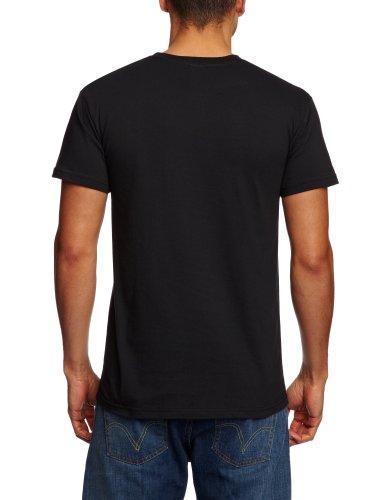 Plastic Head Herren T-Shirts Schwarz (Black)