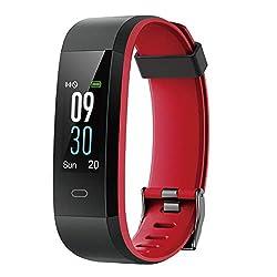 CHEREEKI Fitness Armband Smartwatch Wasserdicht IP68 Fitness Tracker mit Pulsmesser Aktivitätstracker Pulsuhren Schrittzaehler Uhr Smart Watch Fitness Uhr für Damen Herren