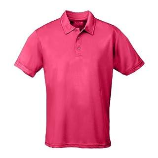 AWD Just Cool /Apparel4OutdoorsDamen Poloshirt Rosa Electric Pink