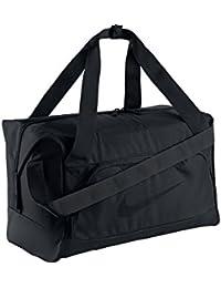 Nike FB Shield Compact Duffel - Bolsa para hombre, color negro, talla única