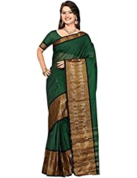 Harsh Sarees Cotton Saree (Shri-27_Green)