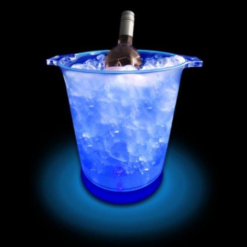 Light Up LED Ice Bucket (blau)