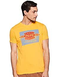 Amazon.in  Yellows - T-Shirts   Polos   Men  Clothing   Accessories e87a57192b