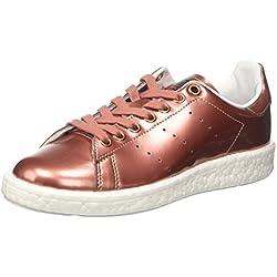 adidas BB0107, Zapatillas Mujer, Cobre (Copper Metallic/Footwear White), 38 EU