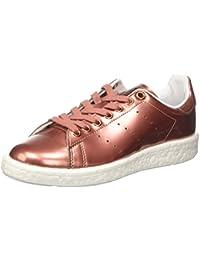 adidas Stan Smith Boost, Sneaker Bas Cou Femme