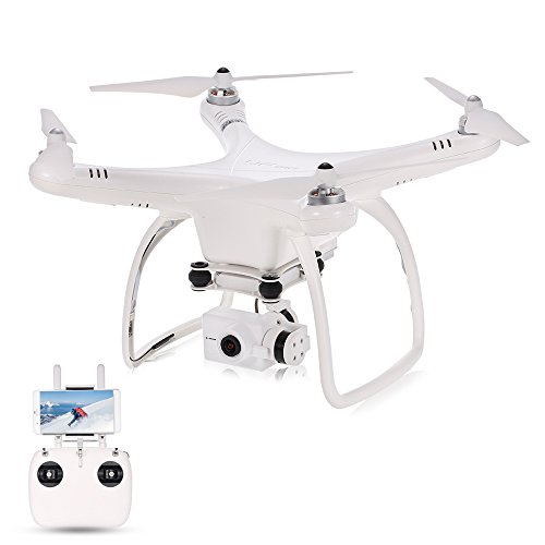 UPair one Drohne mit Kamera 2.4G Fernsteuerung FPV fit übertragung RC Quadcopter with IOS APP Run,Follow Me Modus,Headless Modus,Stereotype upon Profit from, 2.7K Additional/4K Coupled with (UPair One And 4K Portrayal)