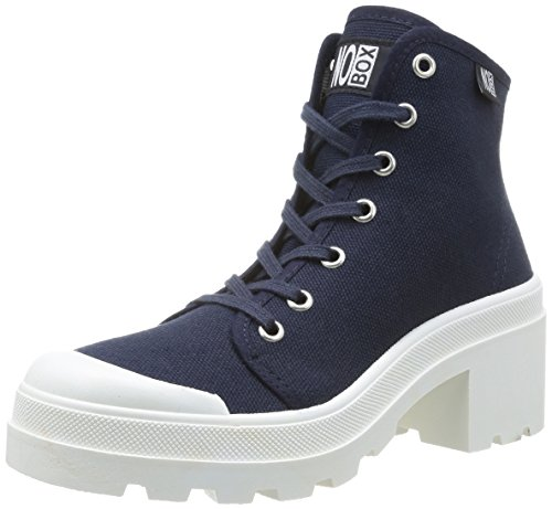 No Box - Galia, Scarpe da Donna, Blu(Bleu (Navy)), 39
