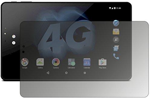 dipos I Blickschutzfolie matt passend für Allview Viva H1002 LTE Sichtschutz-Folie Bildschirm-Schutzfolie Privacy-Filter