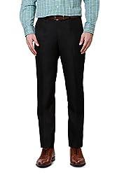 Peter England Comfort Fit Trouser _PTF31602262_36_Black