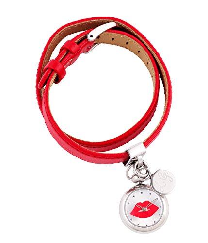 lulu-guinness-0950369-reloj-para-mujeres-correa-de-cuero-color-rojo