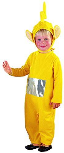 Joker 9599-002 teletubbies laa-laa costume di carnevale, in busta, giallo