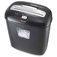 Rexel Duo 10 Sheet Manual Cross Cut Shredder for Home or Small Office Use, 17L Bin, Includes Shredder Oil Sheets, Black, 2102560
