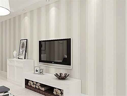 *ufengke Moderne Simple Dick Nicht Wob Vertikale Streifen Tapeten Wandbild Für Wohnzimmer Schlafzimmer TV Hintergrund*