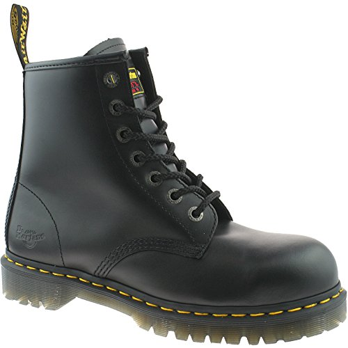 MENS DR MARTENS BLACK SAFETY WORK STEEL TOE CAP ICON 7B10 BOOTS SIZE UK 3 - 15-UK 11 (EU 46) Black Steel Toe Work Boot