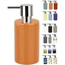 Spirella colección Tube, Dispensador de jabón líquido 7,0 x 7,0 x