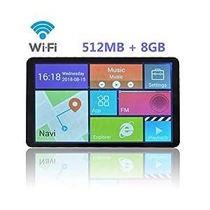 """gps maps: Navegación GPS para Coche Pantalla de 7"""" Nüvi Con 8G y pantalla táctil - Bluetoo..."""