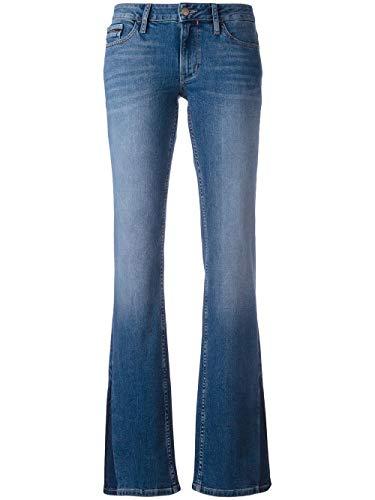 Calvin Klein Jeans Bootcut Damen Blau J20J201261 W32/L30 - Calvin Klein Bootcut Jeans
