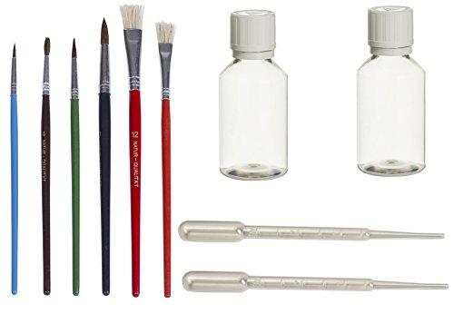 Profi Airbrush Aquarell Farben Lack lackieren Ausbesserungsset Pinsel Set Smart Spot Repair...