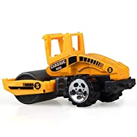 Construction Excavator Car Toys Push and Go Car Vehicles Toys for Kids 1PC(Street Roller)