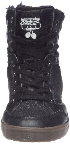 Le Temps des Cerises Heritage, Baskets mode femme Noir (Black)