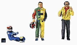 Hasegawa 0203411/24Conductores plástico Maqueta de Fórmula 1, Modelo Ferrocarril Accesorios, Hobby, de construcción
