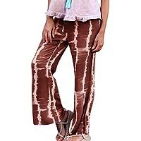Surfiiy - Pantalones de Mujer para salón o casa, cómodos, Color Suave